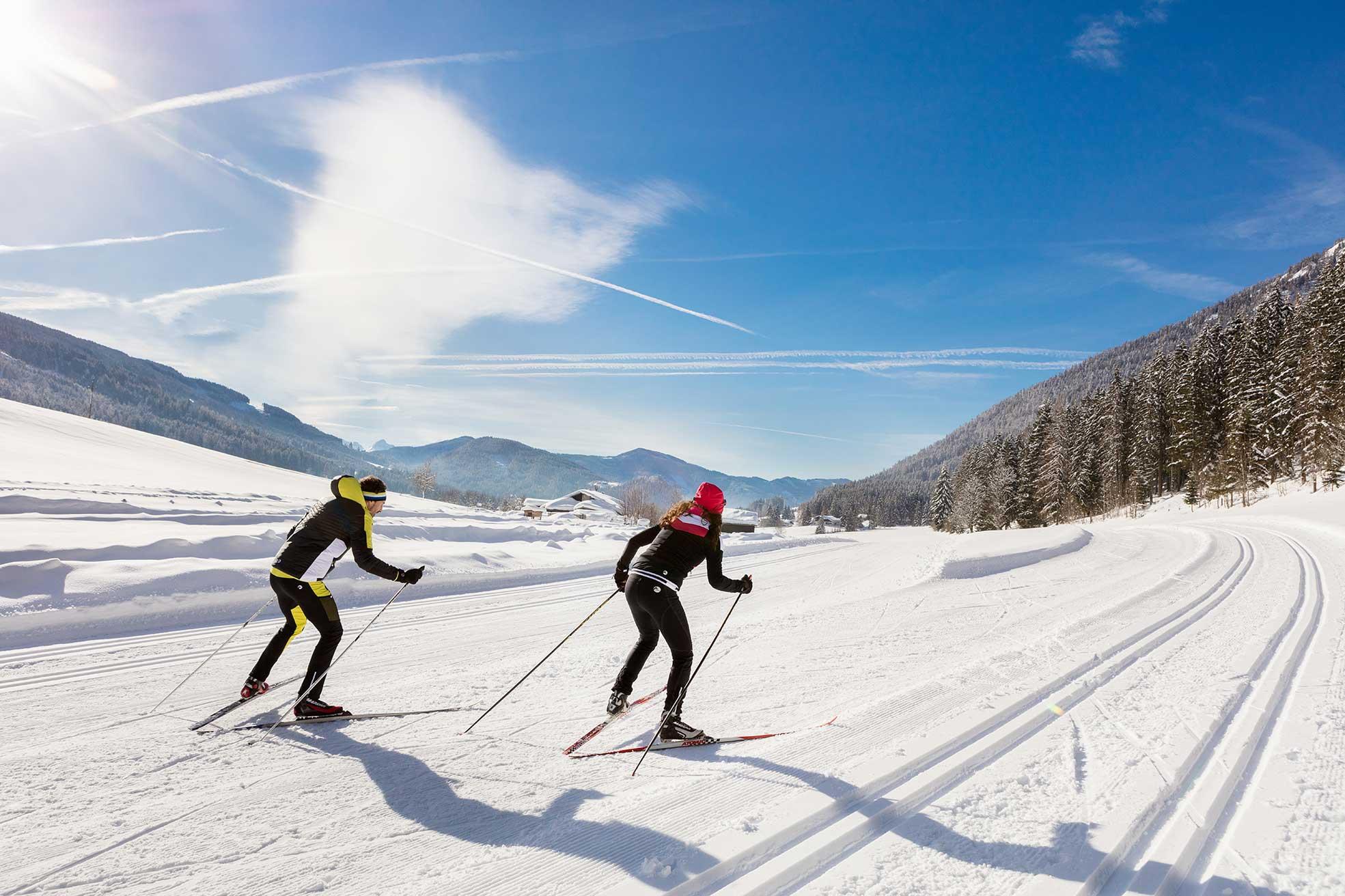 Langlaufen im Salzburgerland