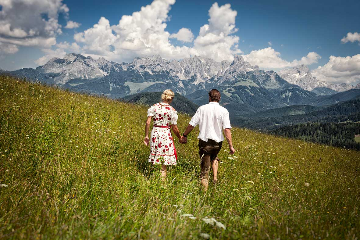 Sommerurlaub in Salzburg